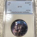 1966 Kennedy Half Dollar NNC - SP70