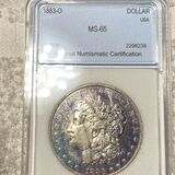 1883-O Morgan Silver Dollar NNC - MS65