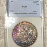 1900 Morgan Silver Dollar NNC - MS65