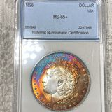 1896 Morgan Silver Dollar NNC - MS65+