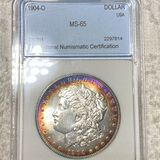 1904-O Morgan Silver Dollar NNC - MS65