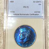 1964 Kennedy Half Dollar NNC - PR70