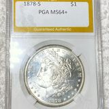 1878-S Morgan Silver Dollar PGA - MS64+