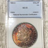 1902-O Morgan Silver Dollar NNC - MS65