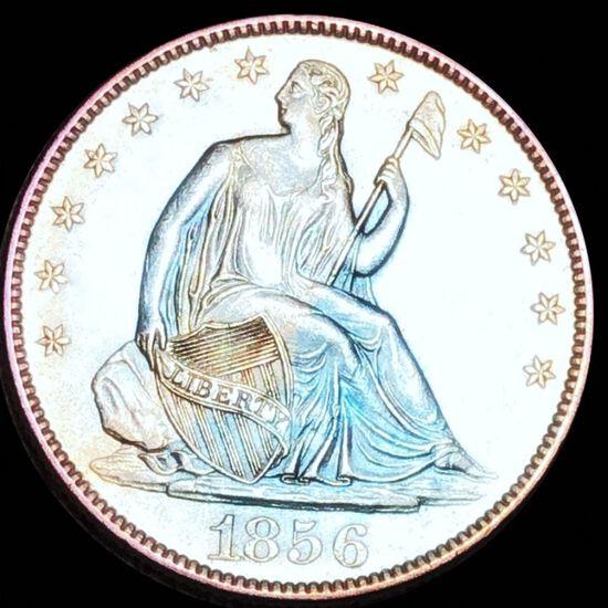 1856-O Seated Half Dollar UNCIRCULATED