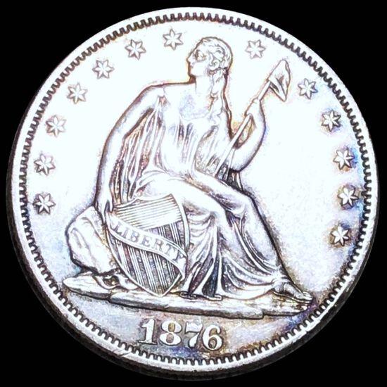 1876-S Seated Half Dollar UNCIRCULATED