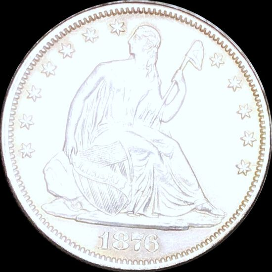 1876-CC Seated Half Dollar UNCIRCULATED