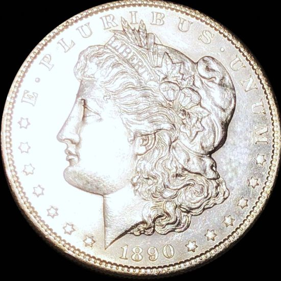 1890-S Morgan Silver Dollar UNCIRCULATED