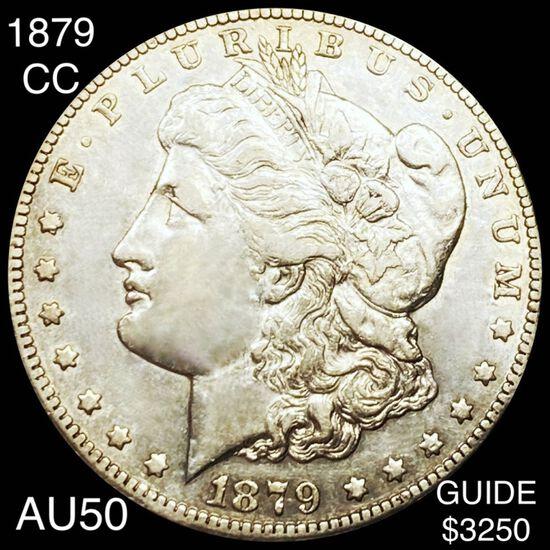 1879-CC Morgan Silver Dollar ABOUT UNCIRCULATED