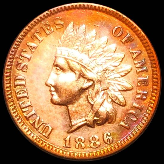 1886 Indian Head Penny CHOICE PROOF