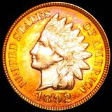 1892 Indian Head Penny UNCIRCULATED