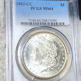 1883-CC Morgan Silver Dollar PCGS - MS64