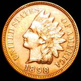 1898 Indian Head Penny CLOSELY UNCIRCULATED