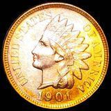 1901 Indian Head Penny UNCIRCULATED
