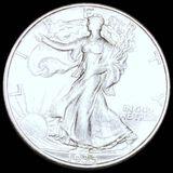 1935-D Walking Half Dollar CLOSELY UNCIRCULATED