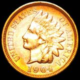 1904 Indian Head Penny CLOSELY UNCIRCULATED