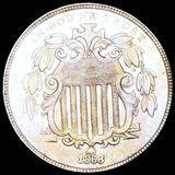 1868 Shield Nickel UNCIRCULATED