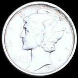 1921-D Mercury Silver Dime UNCIRCULATED