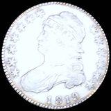 1819 Capped Bust Half Dollar XF