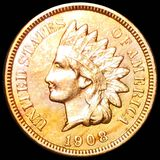 1908-S Indian Head Penny UNCIRCULATED