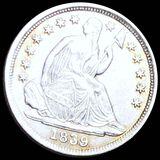 1839-O Seated Half Dime UNCIRCULATED