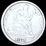 1876-CC Seated Liberty Dime CLOSELY UNCIRCULATED