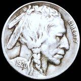1920-S Buffalo Head Nickel LIGHTLY CIRCULATED