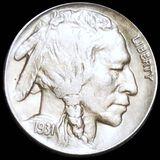 1931-S Buffalo Head Nickel CLOSELY UNCIRCULATED