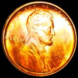 1909 V.D.B. Lincoln Wheat Penny UNC RED