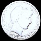 1908-O Barber Half Dollar NICELY CIRCULATED