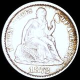 1873 Seated Liberty Dime NEARLY UNCIRCULATED