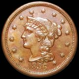 1856 Braided Hair Large Cent UNCIRCULATED
