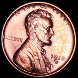 1912-S Lincoln Wheat Penny CHOICE BU RED