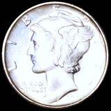 1940-S Mercury Silver Dime UNCIRCULATED