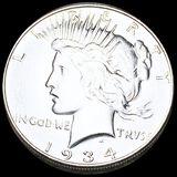 1934 Silver Peace Dollar UNCIRCULATED