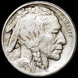 1913-D TY2 Buffalo Head Nickel LIGHTLY CIRCULATED
