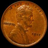 1917 Lincoln Wheat Penny UNCIRCULATED