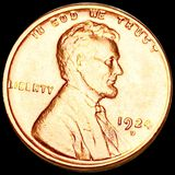 1924-D Lincoln Wheat Penny UNCIRCULATED
