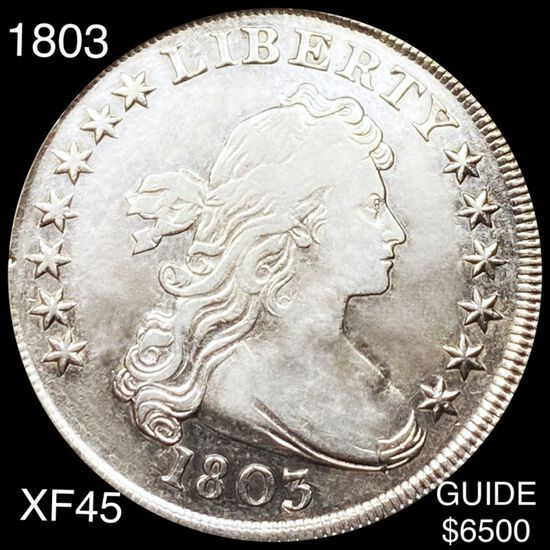 1803 Draped Bust Dollar LIGHTLY CIRCULATED