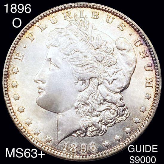1896-O Morgan Silver Dollar CHOICE BU