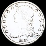 1835 Capped Bust Quarter NEARLY UNCIRCULATED