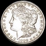 1900-O Morgan Silver Dollar NEARLY UNCIRCULATED