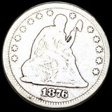 1876 Seated Liberty Quarter NICELY CIRCULATED