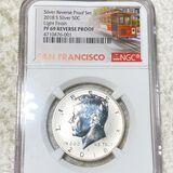 2018-S Kennedy Half Dollar NGC - PF69REVPROOF