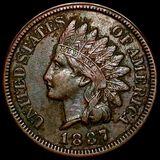 1887 Indian Head Penny XF