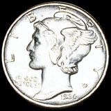 1936 Mercury Silver Dime UNCIRCULATED
