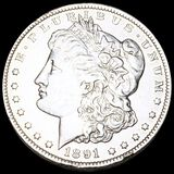 1891-CC Morgan Silver Dollar UNCIRCULATED