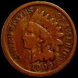 1909-S Indian Head Penny NICELY CIRCULATED