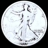 1917-D Walking Half Dollar NICELY CIRCULATED