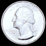 1934 Washington Silver Quarter CLOSELY UNC